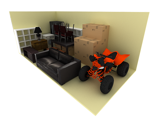 5 x 14 storage unit